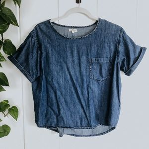 Urban Outfitters Denim Top